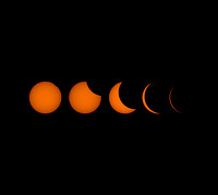 The Great American Eclipse - Sequence to Totality